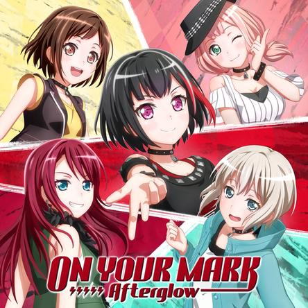 Afterglow、5thシングル「ON YOUR MARK」が各種音楽ランキングで上位にランクイン!