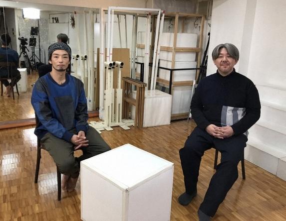 『SWITCHインタビュー 達人達(たち)』森山未來×菅野薫 (c)NHK