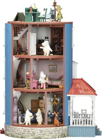 Japan product of the year 2017を受賞した大ヒットシリーズ!ムーミンハウスの精巧なドールハウスをお手元に!週刊『ムーミンハウスをつくる』全号パーツキット販売決定! (C) Moomin Characters TM