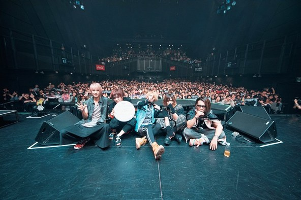 vistlip、8か月の沈黙を破り『vistlip』oneman tour【New ERA STYLE】振替公演ツアーファイナル完遂!