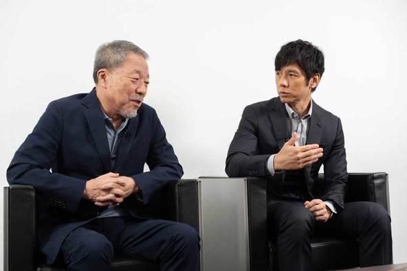 西島秀俊「この映像は宝にします」『空母いぶき』Blu-ray&DVD発売記念、原作者・かわぐちかいじとスペシャル対談