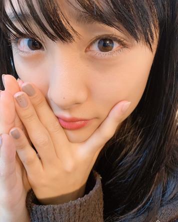 大友花恋が公開した、自身のどあっぷ写真
