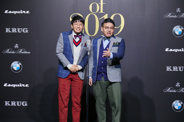The Mavericks of 2019に田村 優さんや、満島 真之介さんら受賞者全員がブルックス ブラザーズのアイテムを着用して登壇しました