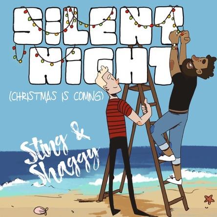 スティング&シャギー「きよしこの夜(クリスマス・イズ・カミング)」