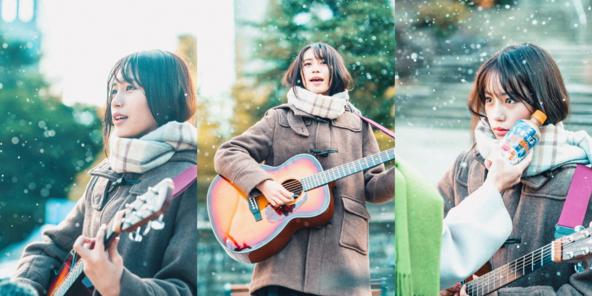 17歳女優・南沙良、JUJUの名曲を弾き語りイメージキャラクターを務める「キリン 午後の紅茶」新TVCM公開 (1)