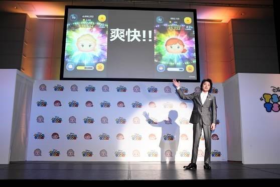 「LINE:ディズニー ツムツム」新ツム及び新CM発表会!藤原竜也CEOがツムツムの魅力をド派手にプレゼン!