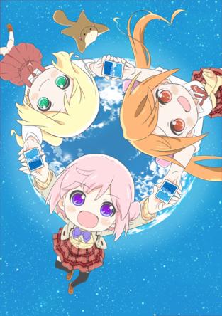 1月5日(日)よりアニメ「りばあす」放送開始 (C)Bushiroadillust. 西あすか