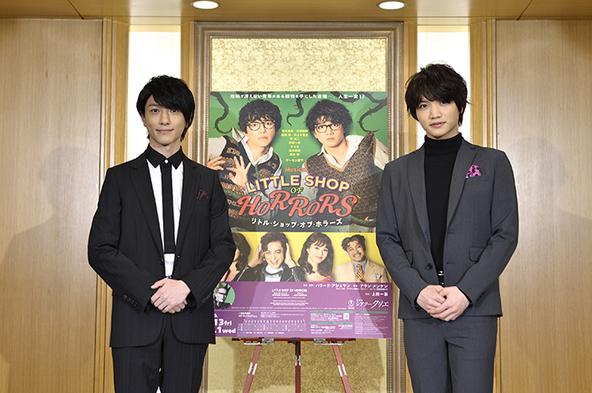 (左から)鈴木拡樹、三浦宏規