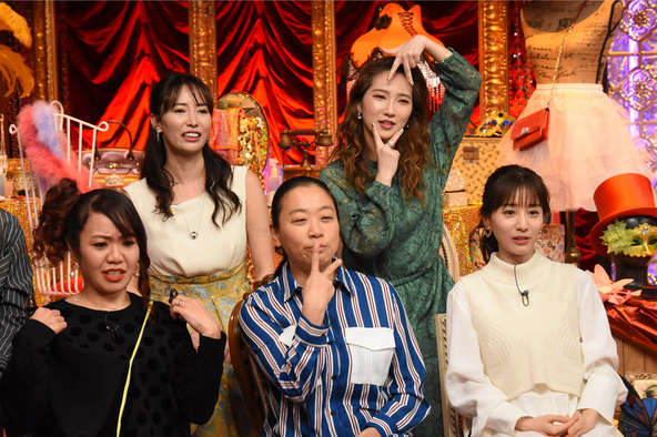 『女が女に怒る夜』出演者の皆さん (c)NTV