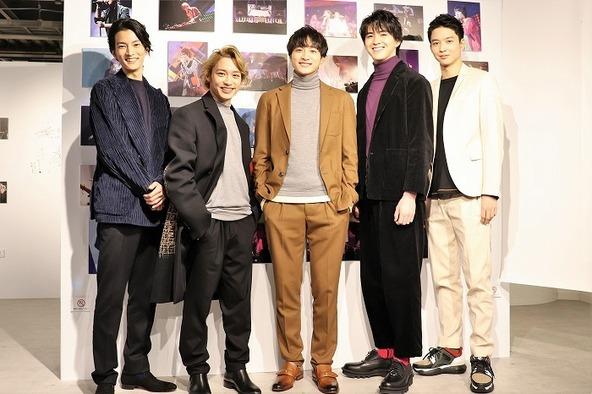 (左から)渡邊圭祐、松岡広大、小関裕太、甲斐翔真、鈴木仁