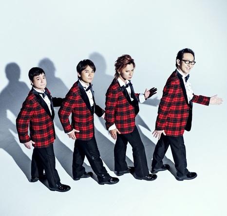 (左から)川平慈英、長野博、松岡充、鈴木壮麻