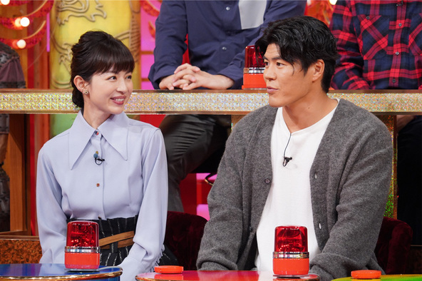 『THE突破ファイル』〈ゲスト〉平井理央、板橋駿谷 (c)NTV