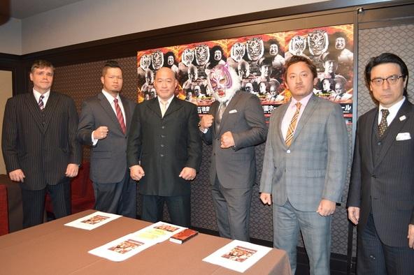 リアルジャパンプロレスが11月29日(金)、記者会見をおこない12・5東京・後楽園ホール大会の全カードを発表した