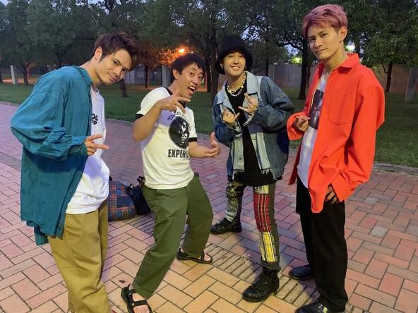 Beat Buddy BoiのSHUN、Toyotaka、RYOが、さらば青春の光・森田主演&脚本監修ドラマ『猪又進と8人の喪女』に出演 (C)カンテレ・BSフジ