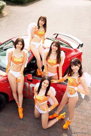 TASエンジェルスを名乗り、今年も『東京オートサロン』を盛り上げる