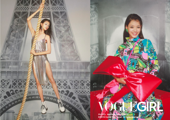 「VOGUE GIRL」人気企画『GIRL OF THE MONTH』に、世界から注目される新星モデル・美佳が初登場。 (1)