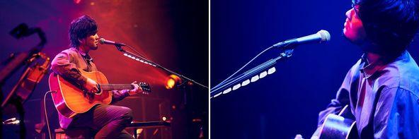 秦 基博、MTV Unpluggedで真骨頂のライブ!この日だけのアコースティック編成で「ひまわりの約束」「鱗(うろこ)」「Raspberry Lover」など全13曲を披露 (1)