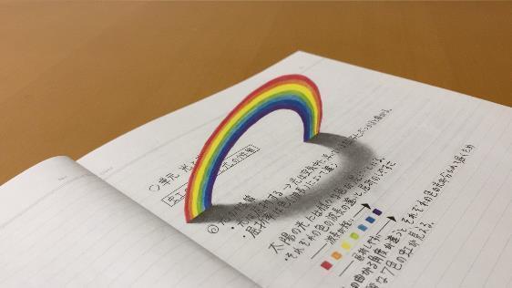 『虹 』 (C)MOZU STUDIOS