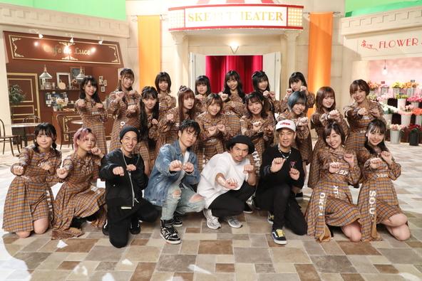 MV撮影時、SKE48集合写真