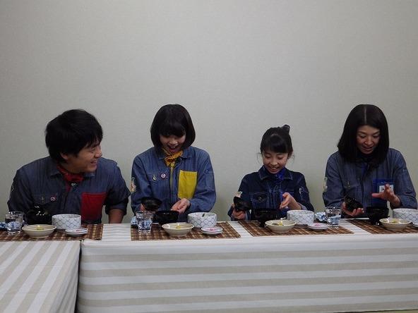 『あぐり王国北海道NEXT』綺麗な麩料理に女性陣はうっとり (c)HBC