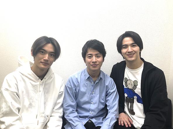 (左から)髙橋颯、村井良大、甲斐翔真 (c)写真=ホリプロ提供