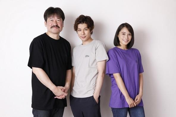 (左から)佐藤二朗 柿澤勇人 広瀬アリス