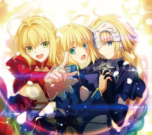 Fateシリーズを彩る主題歌コンピレーションアルバム「Fate song material」12/30付オリコン週間CDアルバムランキング第1位に初登場