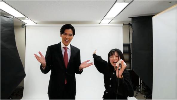 俳優・要潤が「じゅゴン語」で挨拶!?PE-BANK 新CMの撮影現場に潜入 (1)