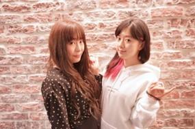 左:櫻川めぐ・右:工藤晴香 (C)BanG Dream! Project