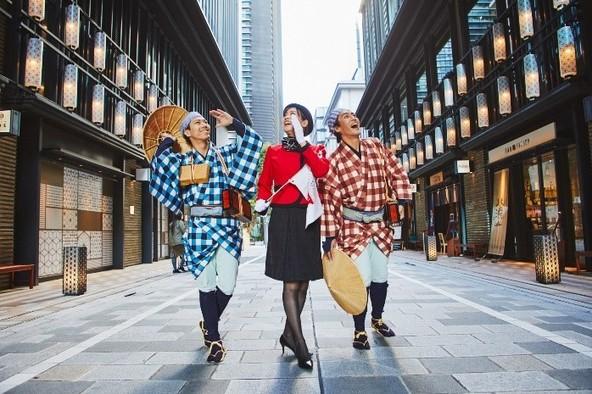 """松竹が演劇と街歩きの融合を手掛ける 新感覚の""""没入型""""街歩きツアー『日本橋シアトリカルツアー』の開催が決定"""