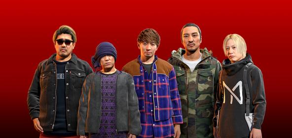 湘南乃風&中田ヤスタカ 「一番歌」PS4®専用ソフト『龍が如く7 光と闇の行方』発売を記念してミュージックビデオを公開