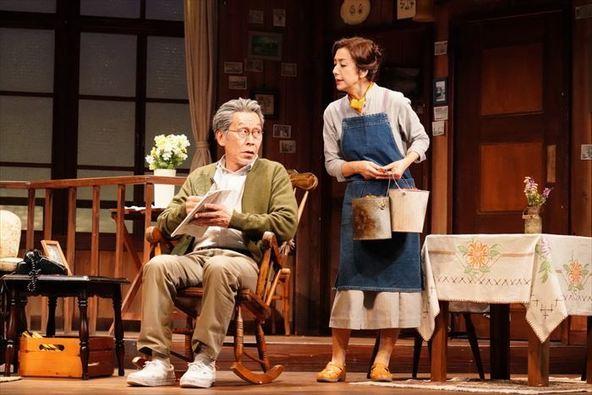 高橋惠子主演、世界20カ国以上で上演され続ける名作舞台『黄昏』が開幕 舞台写真と出演者コメントが到着 (c)撮影:田中亜紀
