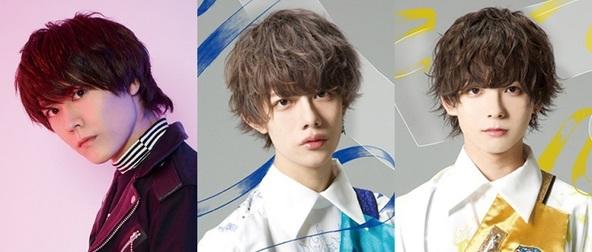 写真左より 斉藤広樹(BLACK IRIS)、市川慶一郎(9bic)、仮屋瀬さつき(9bic)