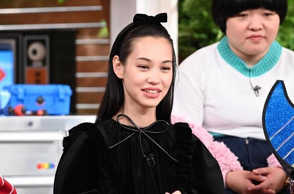 『世界まる見え!テレビ特捜部』水原希子 (c)NTV
