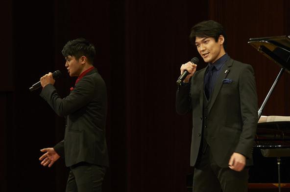 SiriuS(左から 田中俊太郎、大田翔)
