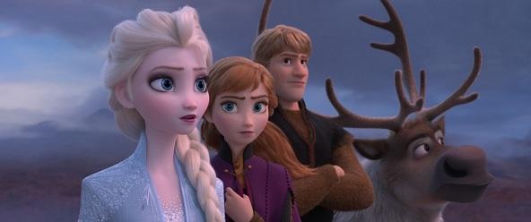 『アナと雪の女王2』観客動員数が1,000万人を突破 世界興収は1,500億円を超える (C)2019 Disney. All Rights Reserved.
