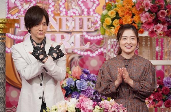 『幸せ!ボンビーガール』DAIGO、水卜アナウンサー (c)NTV