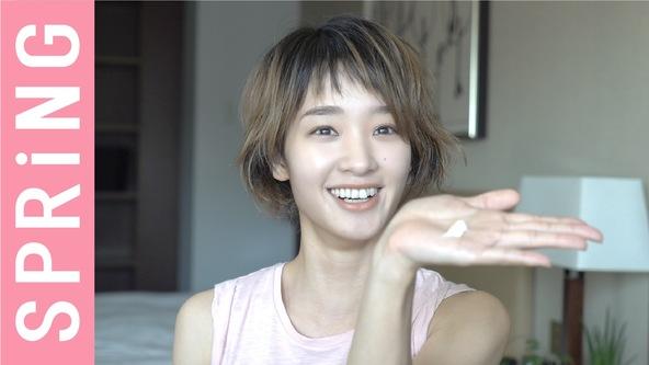 『SPRiNG』オフィシャルYouTubeチャンネルに剛力彩芽が登場!