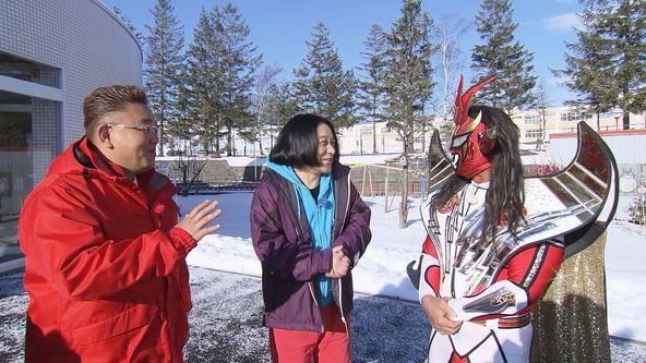 『熱烈!ホットサンド!』チャレンジ企画七番勝負「園児を笑わせろ!」(1) (c)STV
