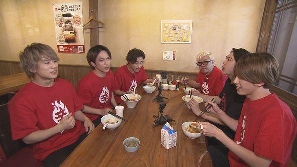 『バリすご8』九星隊が福岡の激辛料理を食べ尽くす!(1) (c)TNC