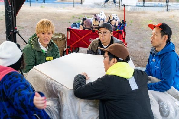 タケト流「DIYキャンプ」!!「東海オンエア」も参戦!!五角形のコタツを作ってみた!!2月5日(水)放送「おぎやはぎのハピキャン」