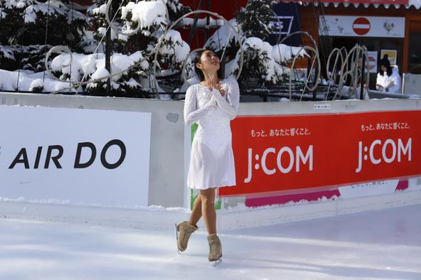 安藤美姫Beautiful Harmony(令和)を表現した美しいパフォーマンスを披露!「札幌に新しい歴史が生まれる願いを込めて」