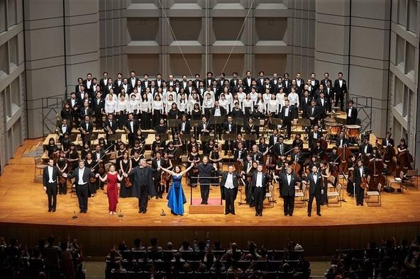 チョン・ミョンフン指揮オペラ演奏会形式ベートーヴェン『フィデリオ』カーテンコールより  (c)撮影=上野隆文