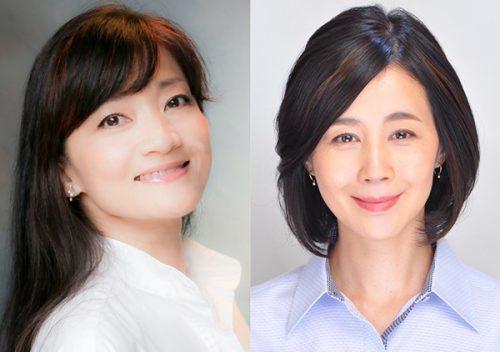 (左から)島田歌穂、村岡恵理