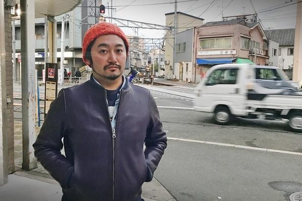 タニノクロウ(庭劇団ペニノ)。 (c)[撮影]吉永美和子(人物すべて)