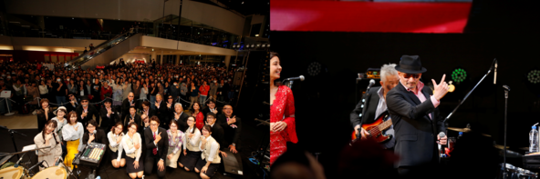 クレイジーケンバンド「最高の場所でのライブ。興奮しました!」大人気コメディラジオドラマ「NISSANあ、安部礼司」公開生放送イベント「NISSAN あ、安部礼司フェスティバル2020 安部四輪」 (1)