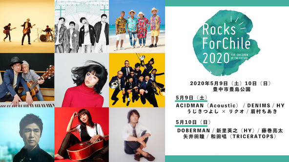 『Rocks ForChile 2020 in TOYONAKA』