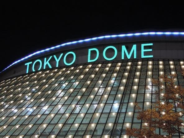 東京ドームの公式戦3試合で特典付き2・3人席「結束シート」を販売