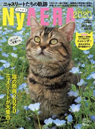 今年もやります! 一冊まるごと猫「NyAERA(ニャエラ)」2020年版はニャスリート大集合! 表紙は岩合光昭さん撮影の役者猫ベーコン (1)