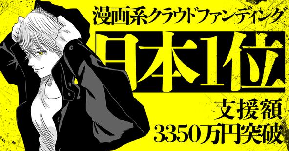 『原作版 左ききのエレン』クラウドファンディング、総支援額3,350万円超えで漫画カテゴリ日本一へ。 (1)
